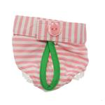 View Image 2 of Pink Striped Dog Pajama Set