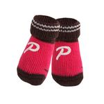 View Image 1 of Pinocchio Dog Socks by Puppia - Pink