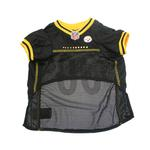 View Image 2 of Pittsburgh Steelers Officially Licensed Dog Jersey - Yellow Trim