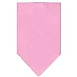 View Image 1 of Plain Dog Bandana - Light Pink