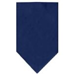 Plain Dog Bandana - Navy Blue