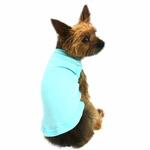 Plain Dog Shirt - Aqua