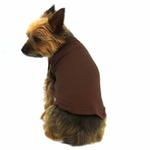 View Image 1 of Plain Dog Shirt - Brown