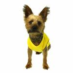 View Image 1 of Plain Dog Shirt - Yellow