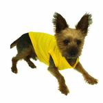 View Image 2 of Plain Dog Shirt - Yellow