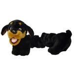 View Image 1 of Plush Puppies Bungee Rottweiler Dog Toy