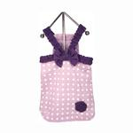 View Image 1 of Polka Dot Dog Dress - Lilac