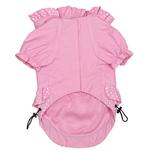 View Image 2 of Polka Dots and Ruffles Raincoat - Pink