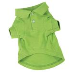 Polo Dog Shirt - Parrot Green
