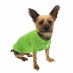View Image 4 of Polo Dog Shirt - Parrot Green