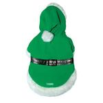 View Image 1 of Pom Pom Elf Coat by Dogo - Green