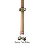 View Image 5 of Poochie Bells Dog Doorbell - Classic Stripe Designs