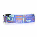 View Image 1 of Poochie Bells Saving Spot Dog Collar - Rescue Me