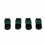 View Image 2 of Preppy Stripes Soxy Paws Dog Socks