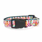 View Image 2 of Pretty Nesting Dolls Dog Collar