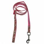 View Image 2 of Primavera Dog Leash by Pinkaholic - Pink