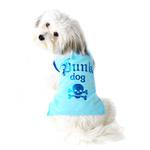 View Image 1 of Punk Dog T-Shirt - Blue