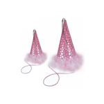 View Image 1 of Puppy Party Hats - Pink