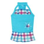View Image 1 of Purity Dog Dress by Puppia - Aqua