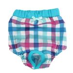 View Image 1 of Purity Dog Sanitary Pants by Puppia - Aqua