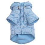 View Image 2 of Quilted Pastel Dog Jacket - Blue