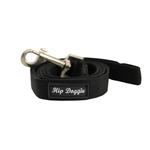 Racing Team Matching Black Leash by Hip Doggie