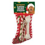 View Image 1 of Ranch Rewards Rawhide Holiday Dog Stockings