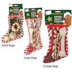 View Image 3 of Ranch Rewards Rawhide Holiday Dog Stockings