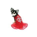 View Image 1 of Red Ballerina Dress by Hip Doggie