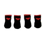 View Image 2 of Red Heart Soxy Paws Dog Socks - Black