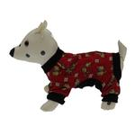 View Image 1 of Red Le Chien Dog Pajamas