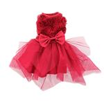 View Image 1 of Red Rose Pet Dress by Pawpatu