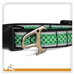 View Image 3 of Reflect and Protect Wander Dog Collar by Kurgo - Grass Green