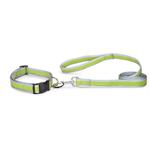 View Image 2 of Reflective Neoprene Dog Leash - Parrot Green