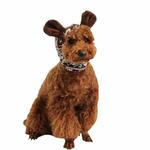 View Image 1 of Reindeer Dog Snood by Pinkaholic - Brown