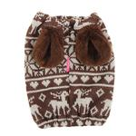 View Image 2 of Reindeer Dog Snood by Pinkaholic - Brown