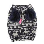 View Image 2 of Reindeer Dog Snood by Pinkaholic - Navy