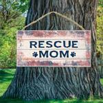 View Image 1 of Rescue Mom Wood Sign