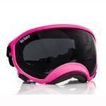 View Image 1 of Rex Specs Dog Goggles - Neon Pink with Smoke Lens