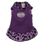 View Image 1 of Rockin' Dice Dog Dress with Scented Patch