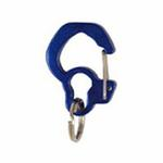 Rubit Dog Tag Clip - Blue Curve