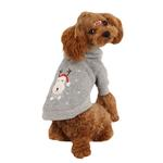 View Image 2 of Rudolph Dog Hoodie by Puppia - Gray