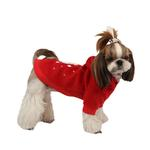 View Image 3 of Rudolph Dog Hoodie by Puppia - Red