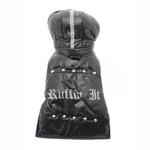 View Image 5 of Ruffin It Dog Parka - Black