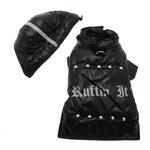 View Image 3 of Ruffin It Dog Parka - Black