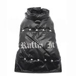 View Image 2 of Ruffin It Dog Parka - Black
