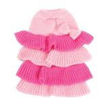 Ruffle Tiered Dog Sweater Dress by Dogo
