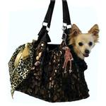 View Image 1 of RunAround Dog Tote Carrier - Black
