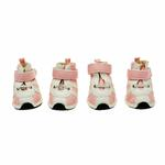 View Image 1 of Runner Dog Sneakers by Dogo - Pink