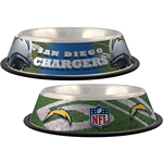 View Image 1 of San Diego Chargers Dog Bowl